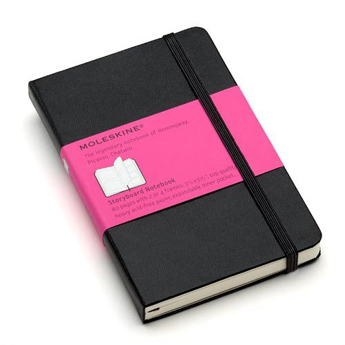 Moleskine Pocket Notebook с раскадровкой