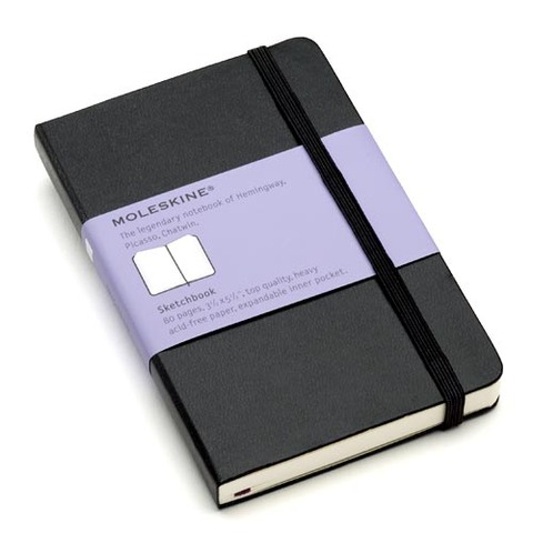 Блокнот Moleskine Limited Edition PETER PAN LEPN01BMM710 Pocket 90x140мм 192стр. линейка Peter