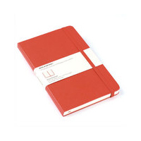 Moleskine Red Large Ruled Notebook