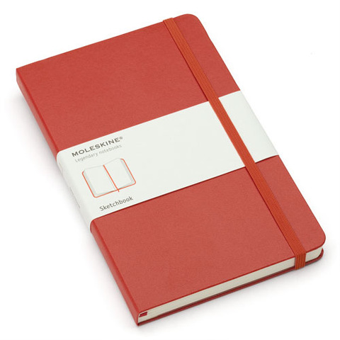 Moleskine Red Large Sketchbook